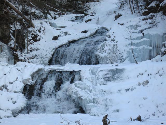 kent falls - winter